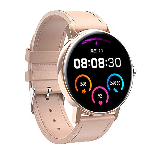 Reloj inteligente 390 * 390 Amoled HD pantalla Bluetooth llamada ritmo cardíaco deportes hombres reloj L01 Nordic52840 2021 para Android IOS-D