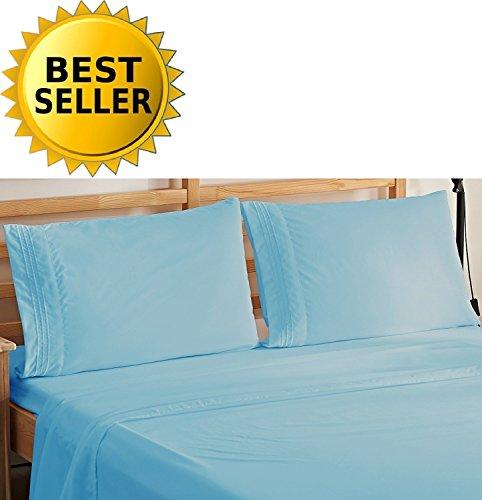 Elegant Comfort 3-Piece Bedding Sheet Set! Luxury Soft 1500 Thread...