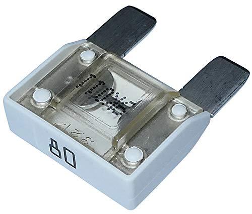 AERZETIX: Fusible - Grand - Blanc - Maxi - 80A - 6V - 12V - 24V - 32V - 29mm - Auto - Voiture - Camion - Utilitaire - C10061