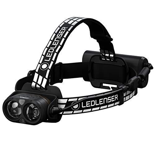 Ledlenser H19R Signature LED Stirnlampe, wiederaufladbar, mit Rotlicht, inkl. Zubehör, 4000 Lumen, 330 Meter Leuchtweite, 1 Stk.