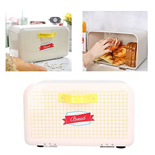 CUTULAMO Bandeja de Pan Extra Grande, Caja de Almacenamiento de Cocina a presión para Bloquear el Polvo y Evitar olores extraños