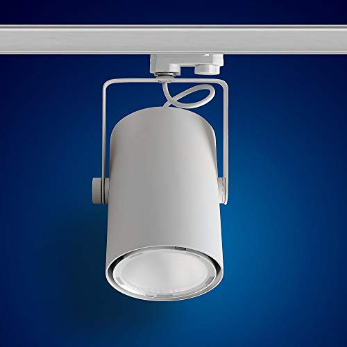 Mextronic 3-Phasen-LED-Strahler für Stromschienen: 40W, Ø 96mm (Neutralweiß) [Energieeffizienzklasse A]