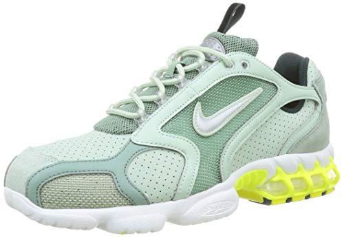 Nike Air Zoom Spiridon Cage 2, Chaussure de Course Homme, Pistachio Frost Metallic Silver, 41 EU