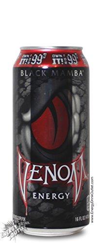 Price comparison product image Venom Energy - Black Mamba - 16fl.oz.(Pack of 12)