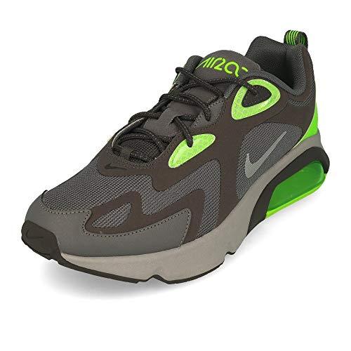 Nike Air Max 200 WTR, Scarpe da Ginnastica Uomo, Thunder Grey Electric Green, 44 EU