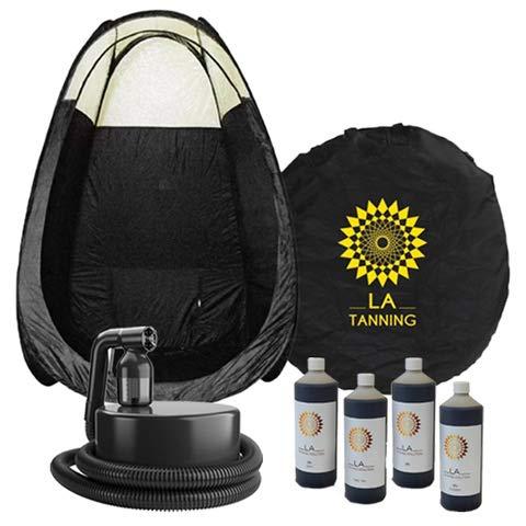 Tan.Lite Máquina de bronceado en aerosol + tienda de campaña y bronceado gratis