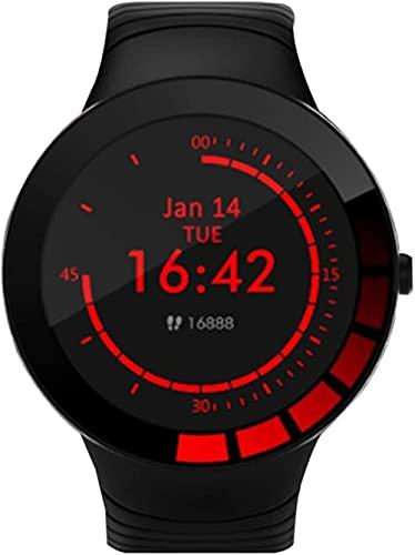 Nuevo E3 reloj inteligente hombres s tiempo fitness Tracker deportes pulsera IP68 impermeable silicona correa smartwatch para Android IOS
