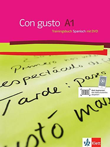 Con gusto A1: Trainingsbuch + DVD