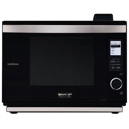 Hot Sale Sharp AX-1200K SuperSteam Multi-Purpose Oven, Black