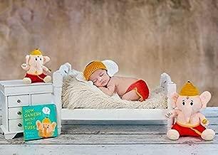 Bundled: Baby Ganesh + Book (Mantra Singing Plush Toys)