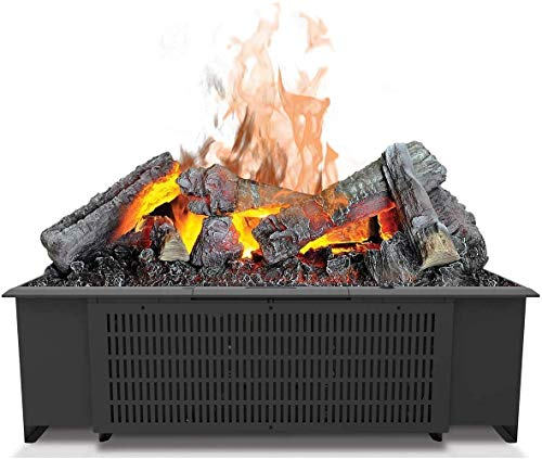 DIMPLEX Cassette 600 Built-in Fireplace Eléctrico Negro Interior - Chimenea (230 V, 50 Hz, 200 W, 200 W, 200 W, 556 mm)