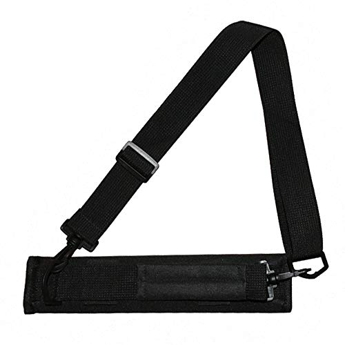 Chnrong Portable Mini Carry Bag Shoulder Sleeve Bag for Golf Course Golf Bag Carry Strap Black