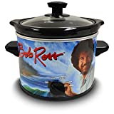 Bob Ross 2 Quart Slow Cooker- Happy Little Tree Appliance