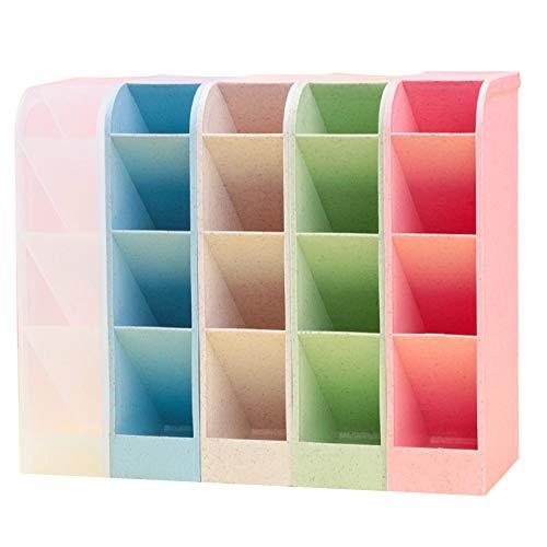 Organizador de escritorio, Lre Co. 5 piezas organizador de escritorio para lápices, multifuncional organizador de rotuladores de boligrafos organizador lapices para útiles escolares y domésticos