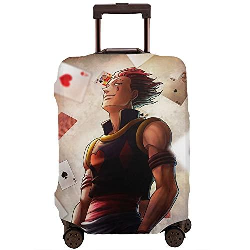 Hisoka - Protector de maleta de viaje único, lavable, bonito e interesante reconocimiento elástico