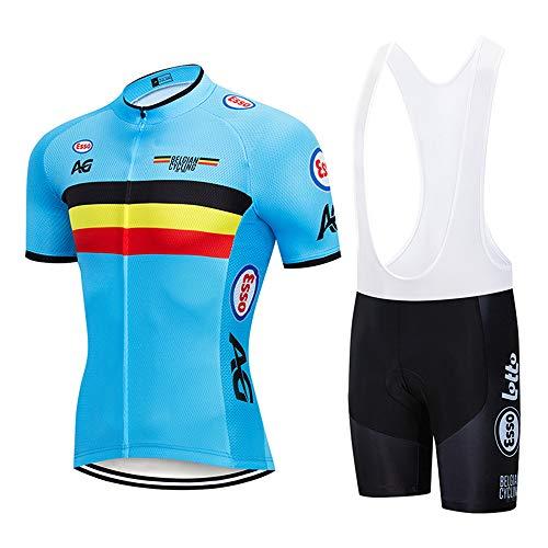 Abbigliamento Ciclismo Uomo Pro Completo Estivi Uomo Ciclismo Maglia MTB