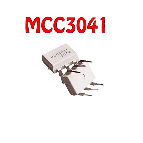 DIYUKMALL 10PCS MOC3041M Dip-6 MOC3041 6-Pin
