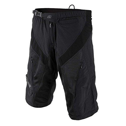 O'Neal | Pantaloncini da Mountainbike | MTB Downhill Freeride | Chiusura a Scatto, vestibilità sicura, Tessuto performante ad Asciugatura Rapida | Pantaloncini Generator | Adulto | Nero | Taglia 32