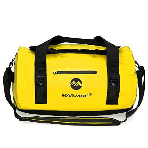 Lixada Borsa Impermeabile Alta capacità 30L 60L 90L Borsa a Tracolla Borsetta Resistente all Usura per Il Campeggio Kayak Nuoto Fitness