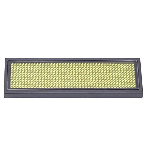 Pantalla de letrero LED Etiqueta de 4 caracteres para hotel(yellow)