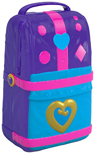 Polly Pocket FRY40 Hidden Places Beach Vibes Backpack, Multi-Colour