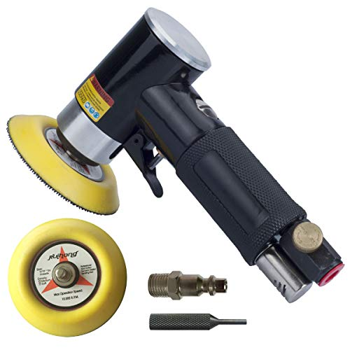 2' and 3' Random Orbital Air Sander, Pneumatic Sander for auto sanding tools, Dual Action Polisher, air angle sander, pneumatic angle sander