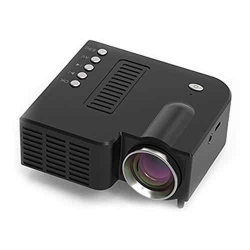 Ashey LED-Projektor, Design UNIC, 10 W, 10-60 Zoll, tragbarer Videoprojektor, Projektor 1080P, für Home Office-Geschenke
