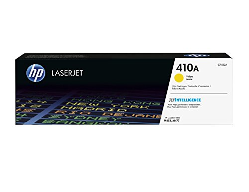HP 410A (CF412A) Gelb Original Toner für HP Color Laserjet Pro M452, HP Color Laserjet Pro M477