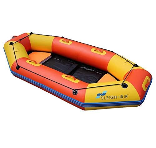 Kayak Gonfiabile per 2 Persone con Barca Gonfiabile, 2 Cuscini di Seduta Gonfiabili E 2 Remi, Challenger Kayak Island Voyage - Angler E attività Ricreative Sit on Top Kayak da Pesca Leggero
