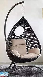 Universal Furniture Outdoor/Indoor/Balcony/Garden/Patio/Hanging Swing Chair/Color (Brown)