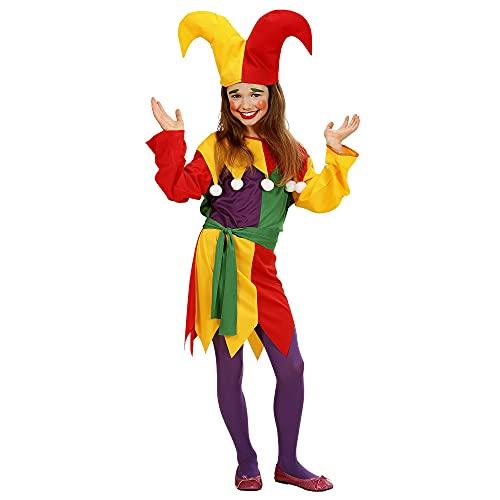 Widmann Pour enfant Jolly Jester Costume Medium 8?10ans (140cm) pour Clown Déguisement