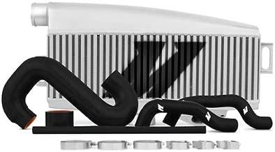 Mishimoto MMTMIC-WRX-01SLBK Subaru WRX/STI Performance Top-Mount Intercooler Kit, Silver Intercooler Black Hoses, 2002-2007