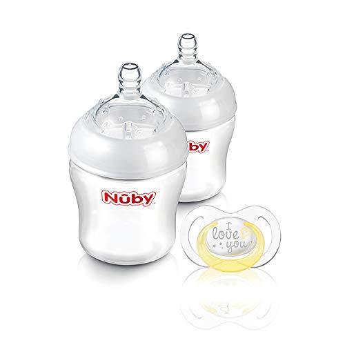 Nûby – 2 x 180 ml fles gewoon nuby