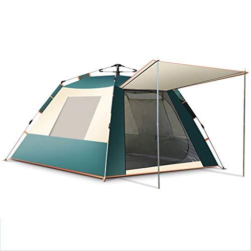 Tente Pavillon Camping Jardin Vestiaire sommeil popup 3 à 6 personnes
