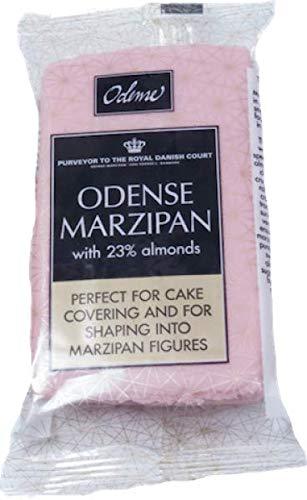 Marzipan 200 g - rollfertig rosa