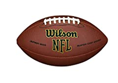 Football is a game of will. Take hold of the game with the NFL Supergrip. Made with a high-performance composite material, this football offers the ideal blend of durability Bring the Big Game to the Backyard Junior size, recomillimeterended for play...