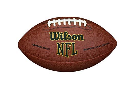 Wilson NFL Super grip Composite Junior Football Brown, Junior (Age 9-12)