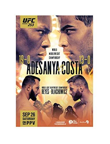 """ETC UFC 253 Adesanya VS Costa Movie TV Series Art Silk Print Size 13""""x20"""" 24""""x36"""" 27""""x40"""" 32""""x48"""" (24""""x36""""(60x91cm))"""