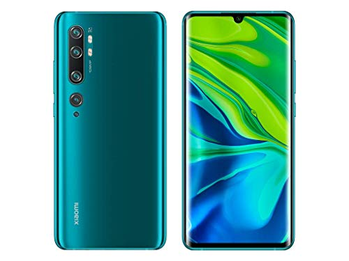 Xiaomi Mi Note 10 128GB 108MP Penta Camera 6.47″ LTE Factory Unlocked Smartphone (International Version) (Aurora Green)