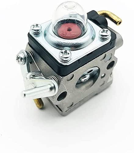 Nuevo Strimmer Hedge Carbureburretor Carbo Piezas de recortadoras para Husqvarna 122HS45 122HD60 Piezas de carburador de 122HD60 Reemplaza 523012401 McCulloch 4528 Redmax ChT220 kit de reparación de c