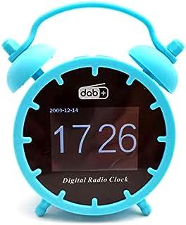 APROTII Mini DAB/DAB+ Radio Portable FM Radio Receiver Bluetooth Music Player Support TF Card with Colorful LCD Display Al...