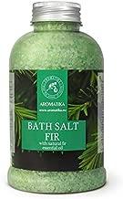 Fir Bath Salt with Natural Fir Essential Oil 21.16 Ounces - Natural Bath Sea Salt - Coniferous Salts - Best for Bath - Good Sleep - Relaxing - Body Care - Beauty - Aromatherapy