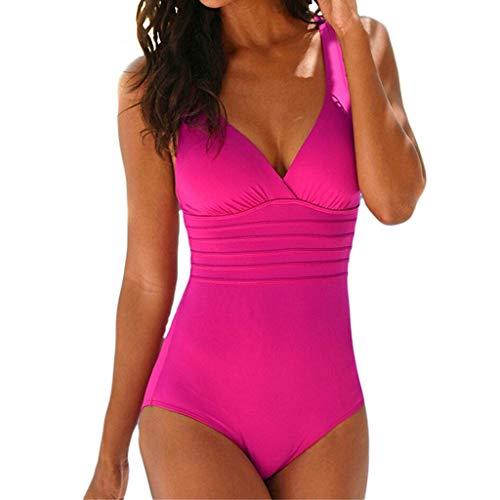 LSAltd Heißer Frauen Sommer Sexy Feste Badebekleidung Damen Push Up Solide Beachwear Beiläufiger Badeanzug Dünne Badeanzug Fitness Schwimmen Kostüm