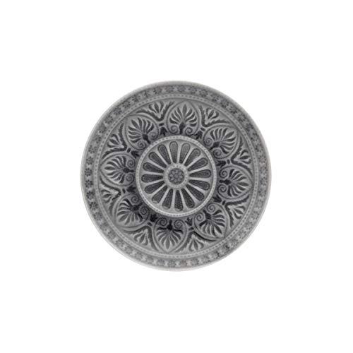 BUTLERS Sumatra Teller Ø 14 cm - Türkiser Essteller mit Muster, Keramik - Speiseteller, Servierteller - Feines Geschirr
