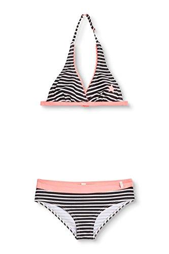ESPRIT Mädchen 048EF5A016 Bikini, Schwarz (Black 001), 170 (Herstellergröße: 170/176)