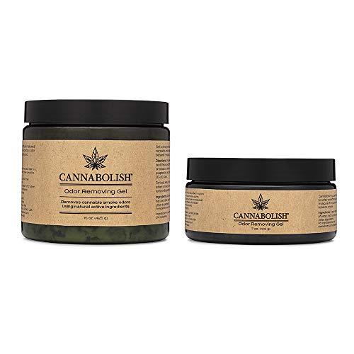 Cannabolish Gel eliminador de olores 7 oz + 15 oz paquete de bonificación