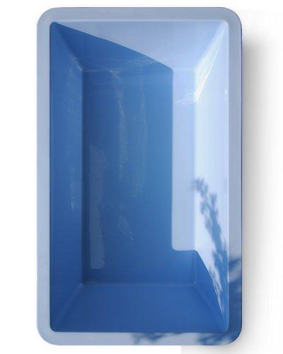 M+W Gartenflair GFK Springbrunnenbecken 6076 7000 Liter (Blau)