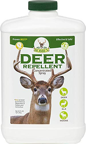 Concentrated Deer Repellent - Bobbex | Deer, Elk, and Moose Deterrent Concentrate (32 oz.) B550100