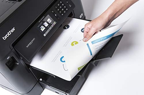 Brother MFC-J5730DW 4-in-1 Farbtintenstrahl-Multifunktionsgerät (2 x 250 Blatt Papierkassette, Drucken, scannen, kopieren, faxen)