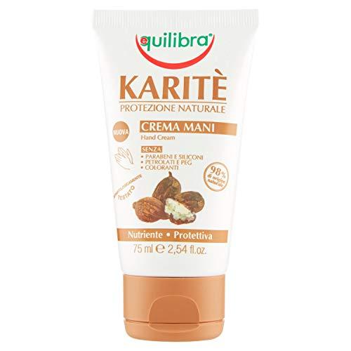 Equilibra Karité Crema Mani, 75 ml